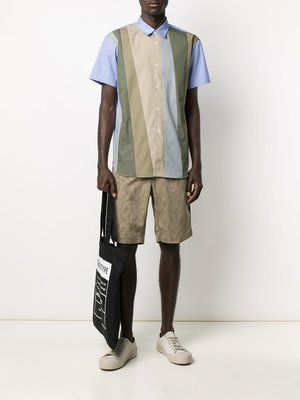 COMME des GARÇONS SHIRT Khaki Floral Shorts