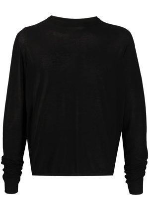 Rick Owens Oversized Biker Shirt