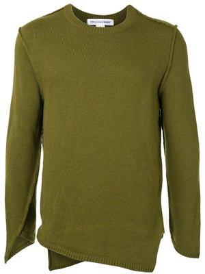 COMME des GARÇONS SHIRT Inside Out Wool Pullover