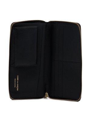 COMME des GARÇONS WALLET Tartan Patchwork Pocketbook