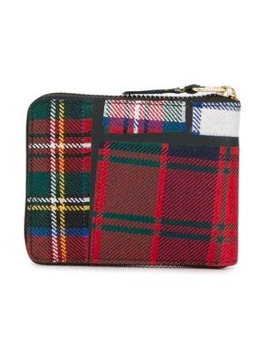 COMME des GARÇONS Wallets Tartan Zipped Wallet
