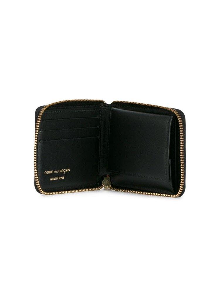 COMME des GARÇONS WALLET Tartan Zipped Wallet