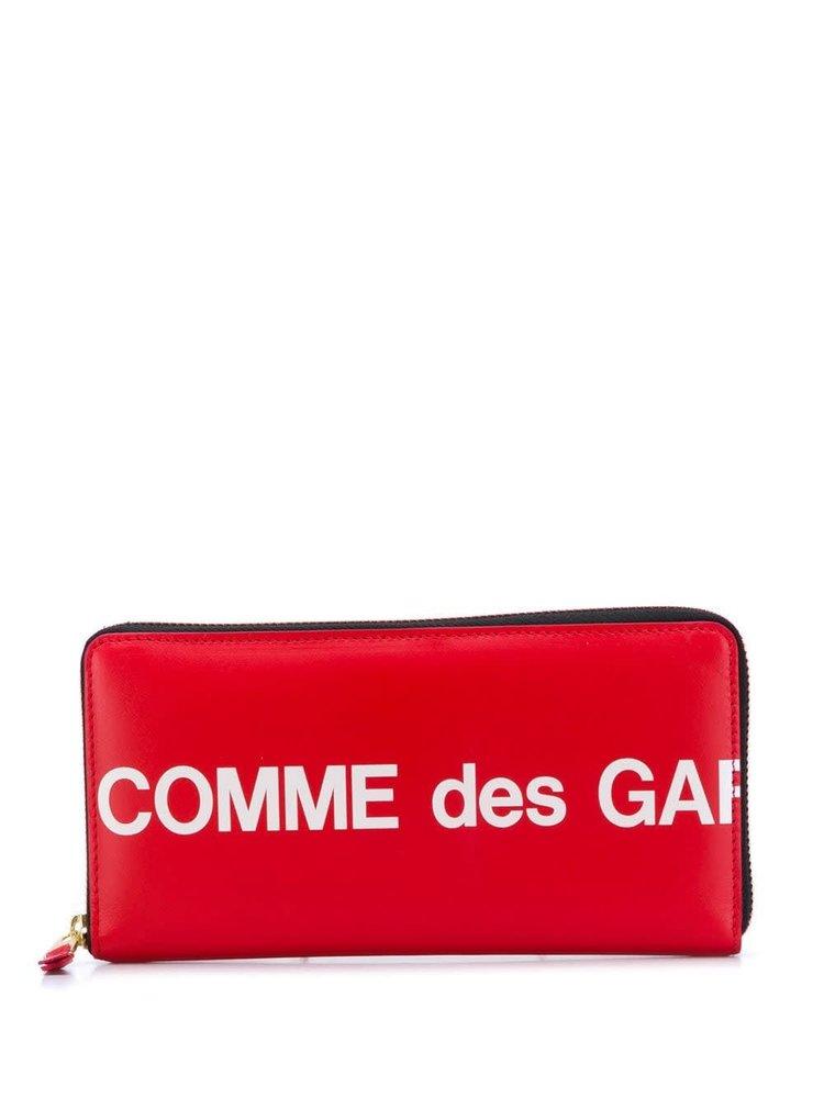 COMME des GARÇONS WALLET Logo Printed Pocketbook