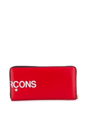 COMME des GARÇONS Wallets Logo Printed Pocketbook