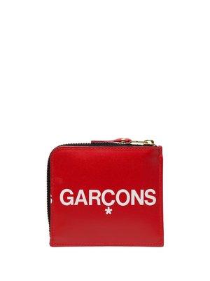 COMME des GARÇONS WALLET Logo Zipped Wallet