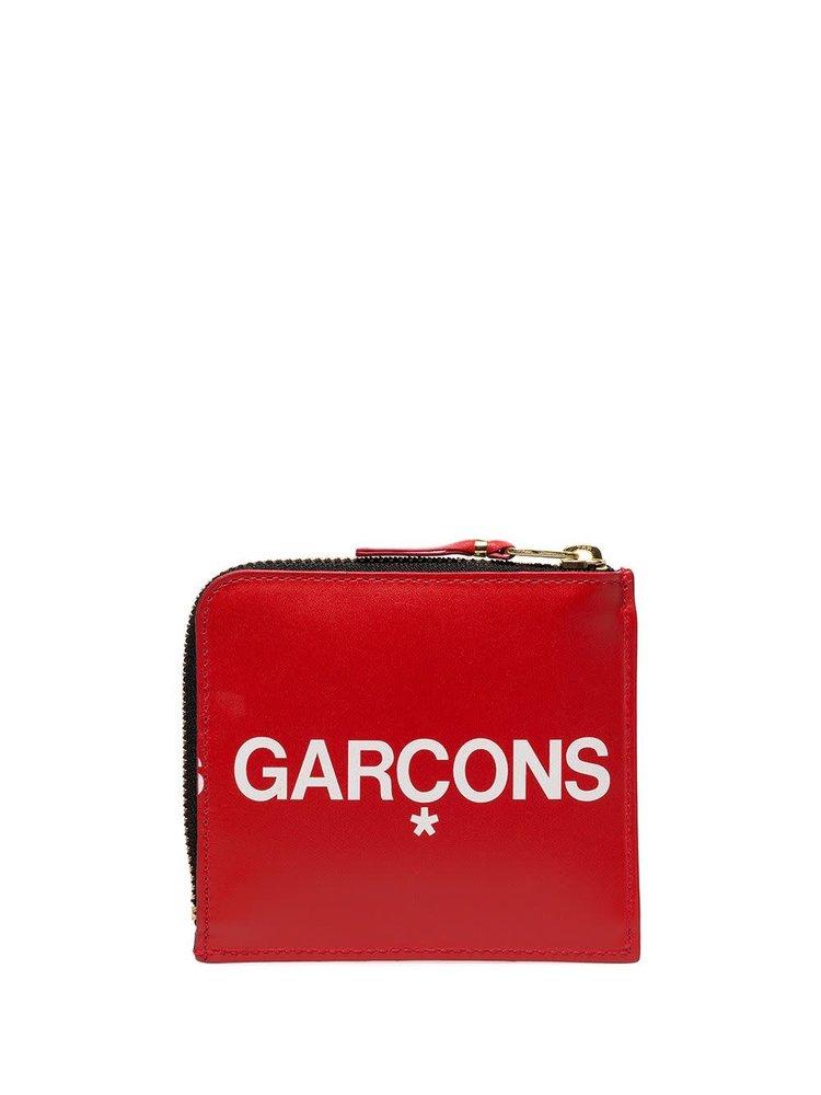 COMME des GARÇONS Wallets Logo Zipped Wallet