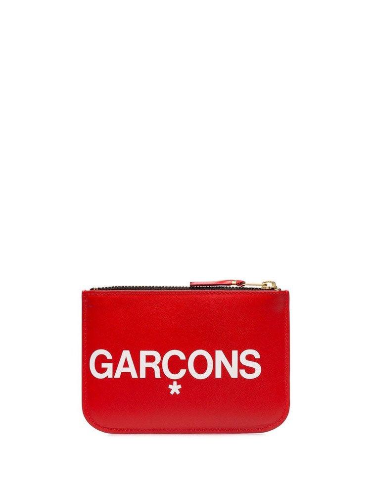 COMME des GARÇONS WALLET Big Logo Pouch