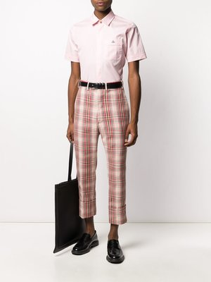 Vivienne Westwood Plaid Crop Pants