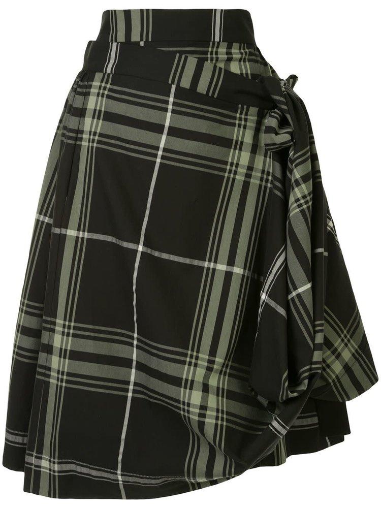 Vivienne Westwood Anglomania Blanket Skirt