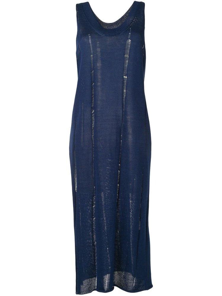 Yohji Yamamoto Distressed Knit Dress