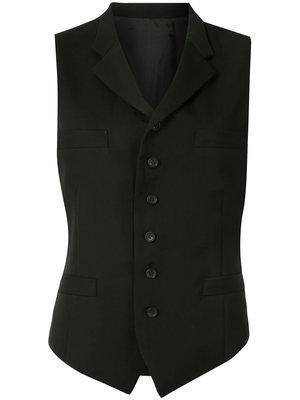 Yohji Yamamoto Notched Lapel Vest