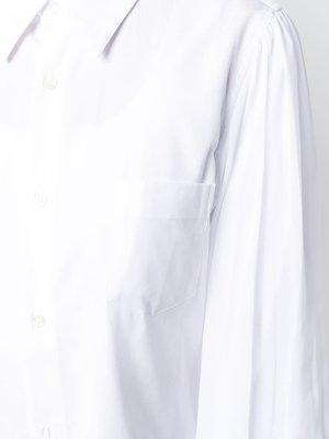 COMME des GARÇONS Long White Button Down