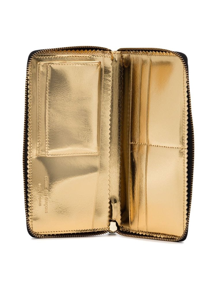 COMME des GARÇONS Wallets Gold Inside Long Wallet