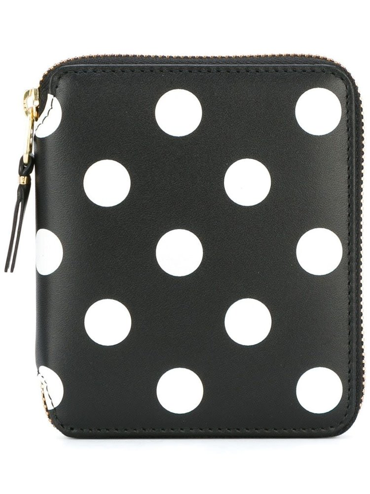 COMME des GARÇONS Wallets Dots Printed Leather Line Wallett