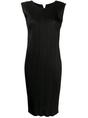 PLEATS PLEASE ISSEY MIYAKE Sleeveless Shift Dress