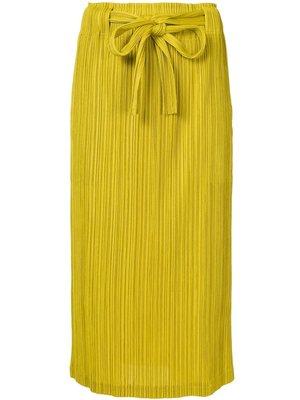 PLEATS PLEASE ISSEY MIYAKE Drawstring Skirt