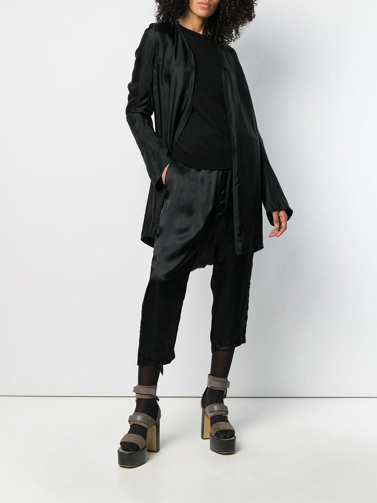Rick Owens Open Front Trench Top