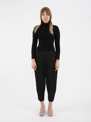 PLEATS PLEASE ISSEY MIYAKE Issey Pleats Please W A-Poc Skin Turtleneck