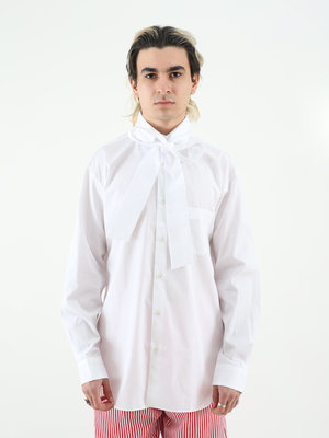 COMME des GARÇONS CDG Shirt M Long Tie Shirt