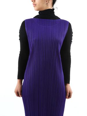 PLEATS PLEASE ISSEY MIYAKE Issey Pleats Please W December Long Dress
