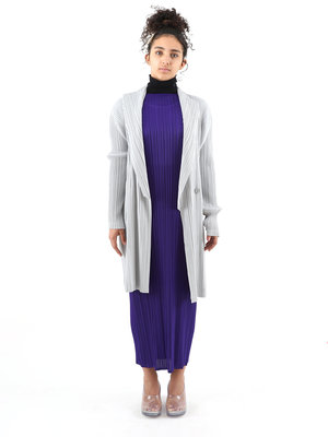 PLEATS PLEASE ISSEY MIYAKE Issey Pleats Please W Light Mannish Coat