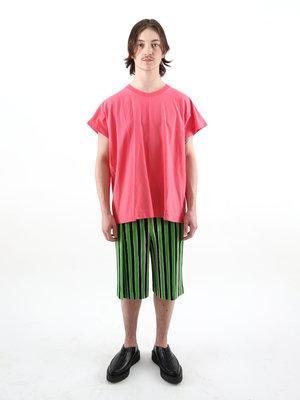 HOMME PLISSÉ ISSEY MIYAKE Homme Plissé M Tailored Line Striped Short