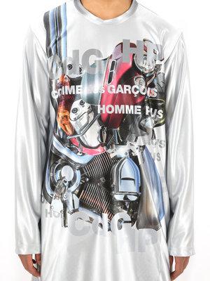 COMME des GARÇONS HOMME PLUS Print Tricot Longsleeve
