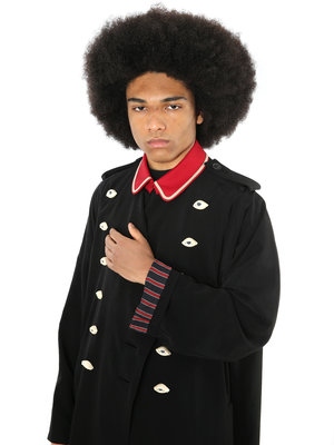 Yohji Yamamoto Red Military Tuxedo