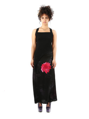 Yohji Yamamoto Yohji W Pocket Flower Skirt