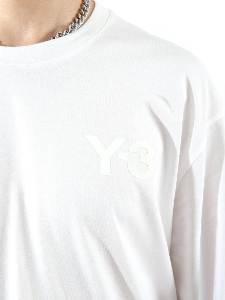 Y-3 Long Sleeve Logo Tee