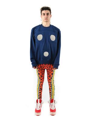 Walter Van Beirendonck WVB U Mirror Oversized Sweater