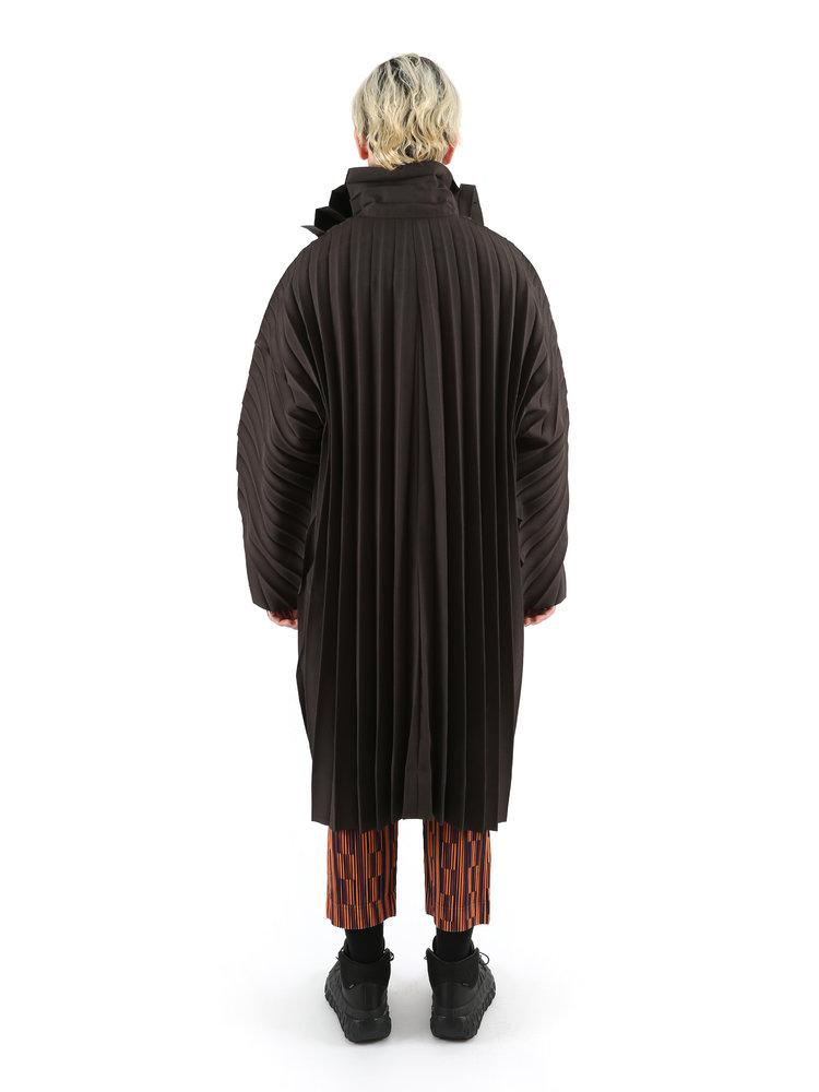 HOMME PLISSÉ ISSEY MIYAKE Long Edge Coat