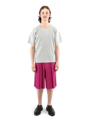 HOMME PLISSÉ ISSEY MIYAKE Pink Pleats Shorts