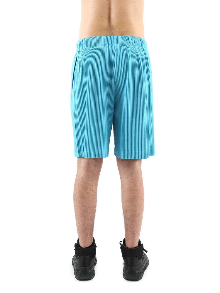 HOMME PLISSÉ ISSEY MIYAKE Blue Pleats Shorts