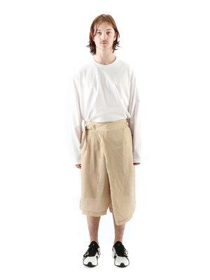 Y-3 Y-3 W Ch3 Sanded Cupro Shorts