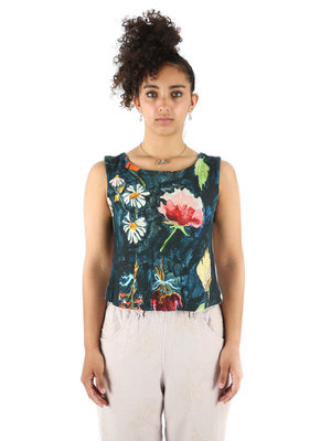 ANNTIAN Dark Print Mini-Top