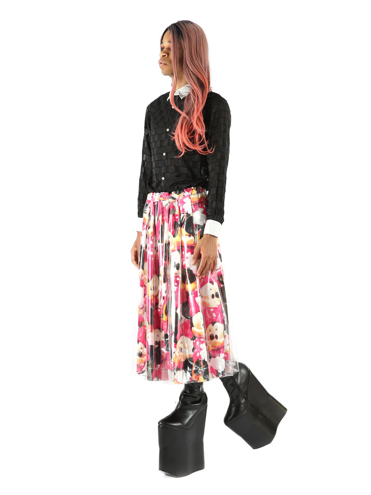 COMME des GARÇONS Minnie Vinyl Skirt