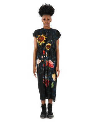 ANNTIAN Simple Printed Dress