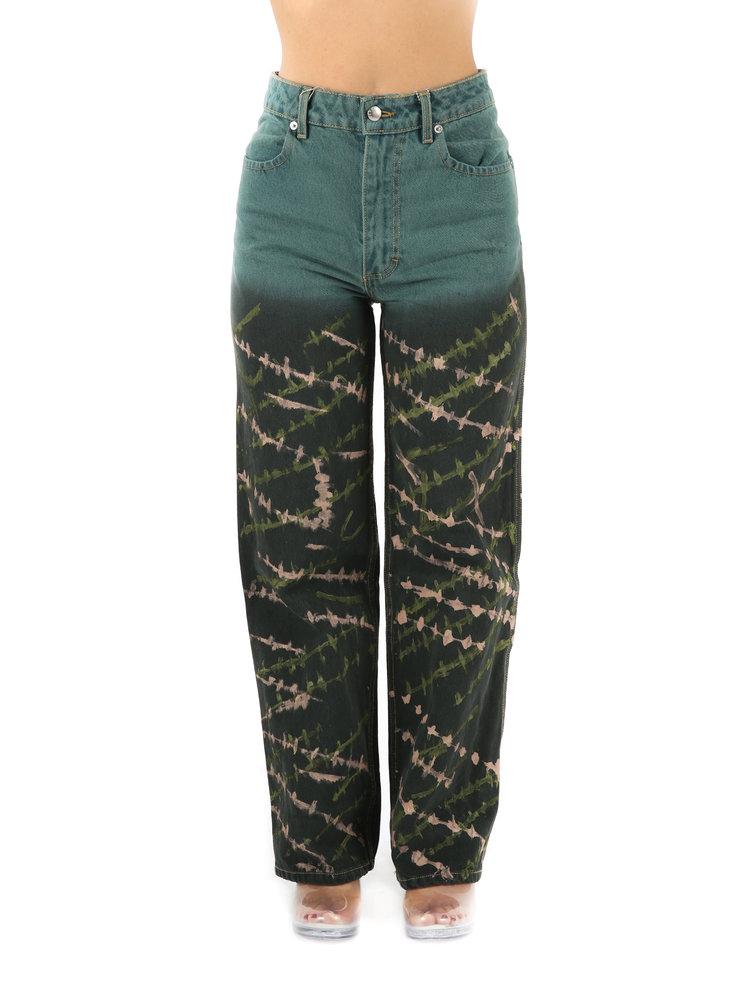 ECKHAUS LATTA Gradient Wide Leg Jean