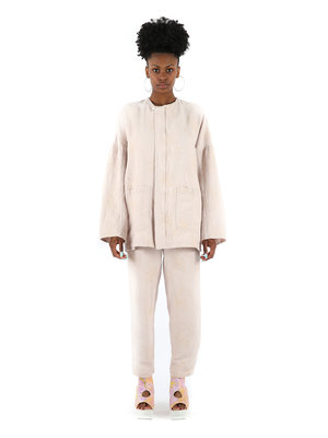 ANNTIAN Embroidered Slim Pant