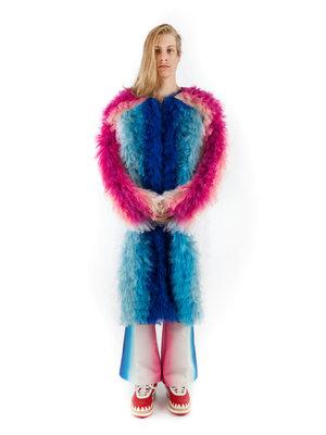 Walter Van Beirendonck WVB M Khiva Fur Coat