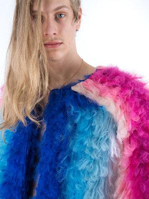 Walter Van Beirendonck Khiva Fur Coat