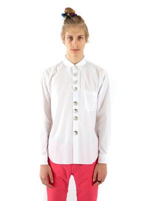 COMME des GARÇONS HOMME PLUS Big Button Shirt