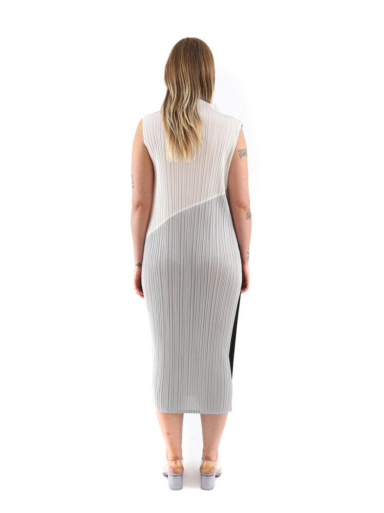 PLEATS PLEASE ISSEY MIYAKE Collage Dress