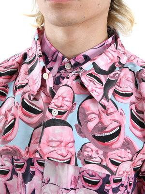 COMME des GARÇONS CdG SHIRT x Yue Minjun Short Sleeve Shirt