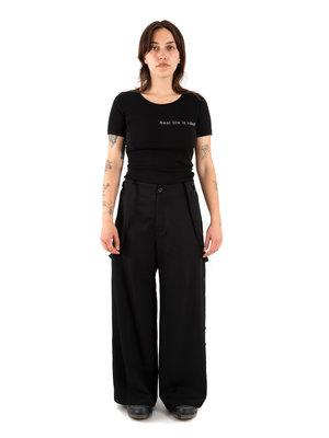 Yohji Yamamoto Side Button Pant