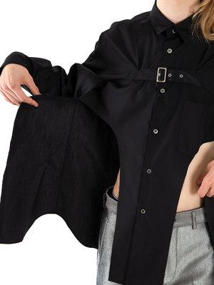 COMME des GARÇONS HOMME PLUS Cotton Strap Shirt