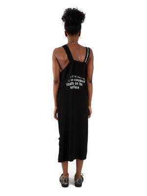 Yohji Yamamoto Message Belt Dress