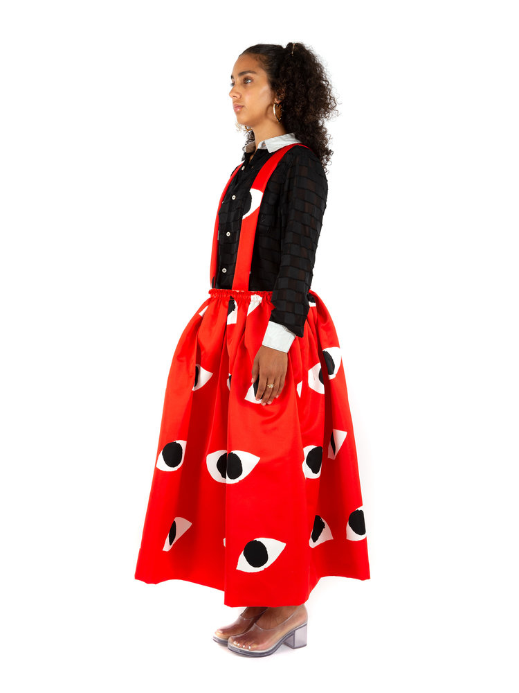 COMME des GARÇONS Print Jumper Skirt