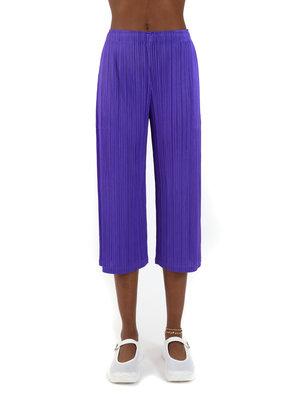 PLEATS PLEASE ISSEY MIYAKE Purple Vein Pants